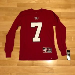 Kaepernick #7 Niners Long Sleeve Shirt